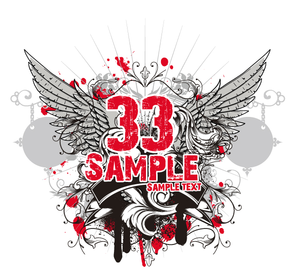 free vector Tide t-shirt design vector