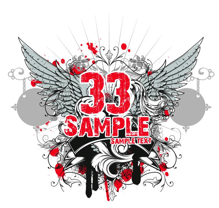 free vector Tide tshirt 19 vector