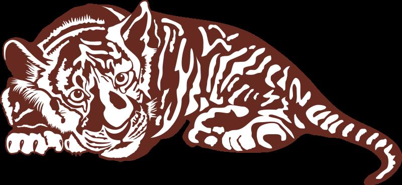 free vector Tiger cub