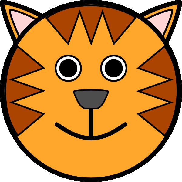 free vector Tiger Face clip art