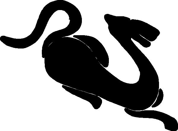 free vector Tiger Slhouette  clip art