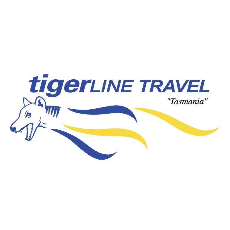 free vector Tigerline travel