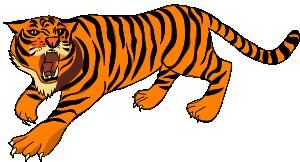 free vector Tigre03 clip art