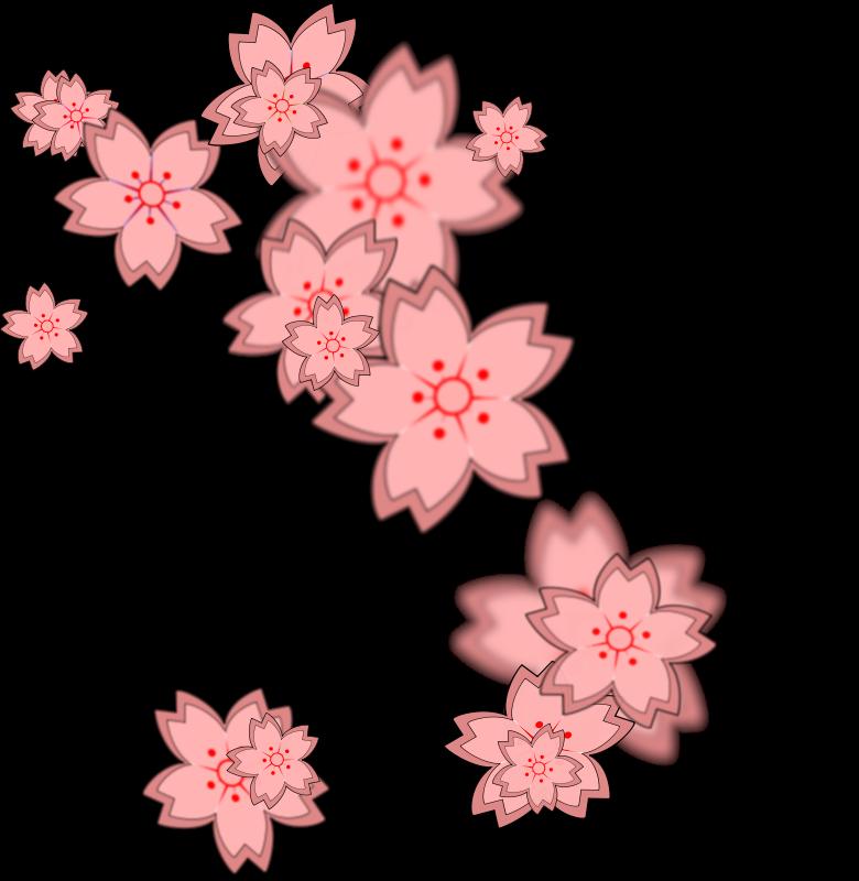 free vector Tile effect sakura 2