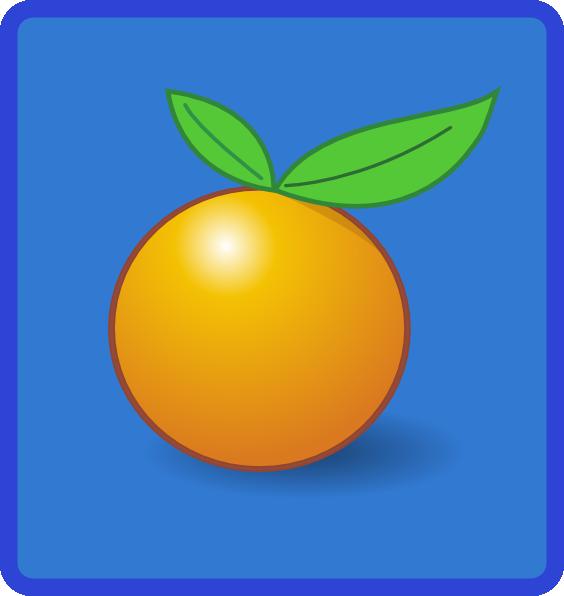 free vector Tile Orange clip art