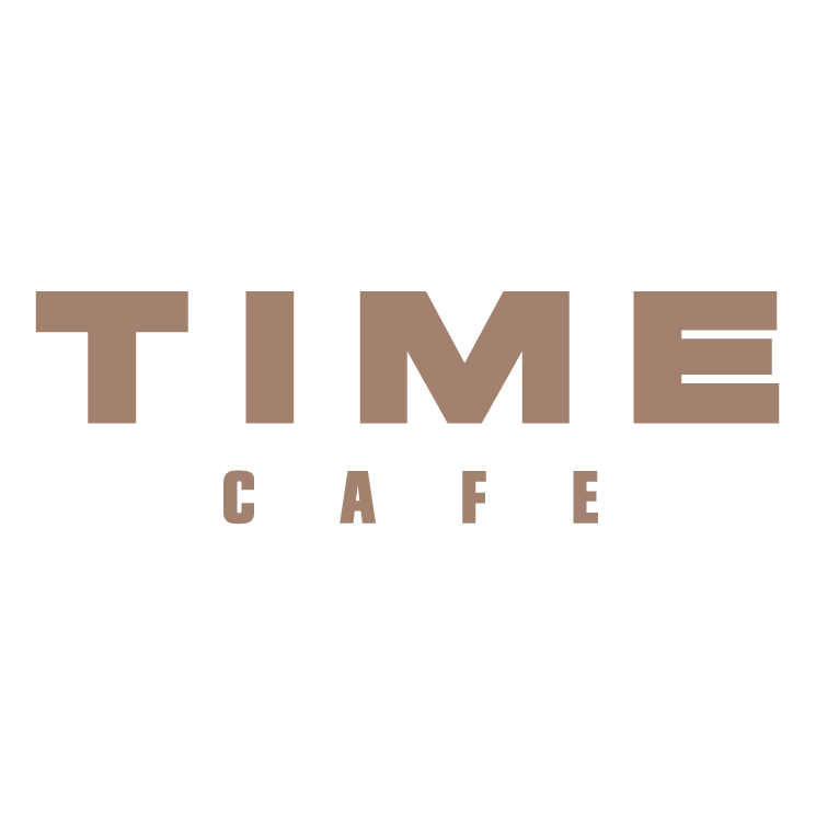 free vector Time cafe