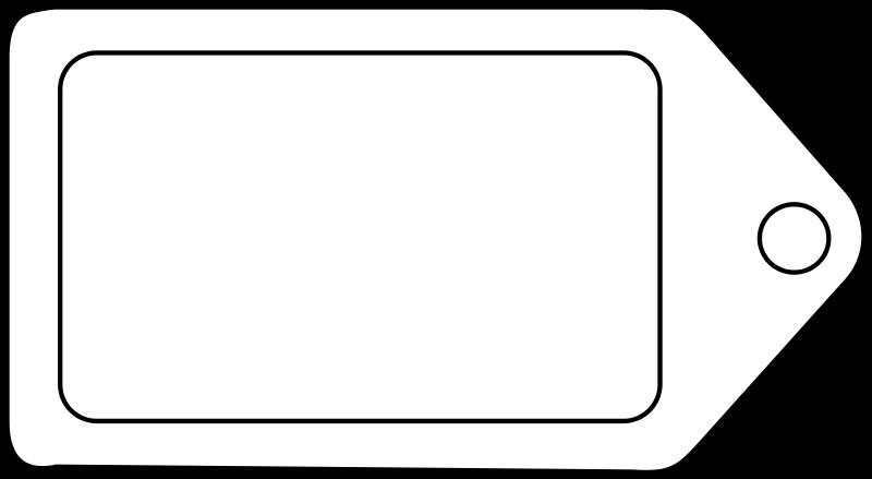 free vector Étiquette / tag