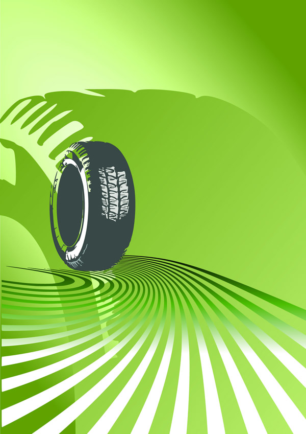 free vector Tire vector