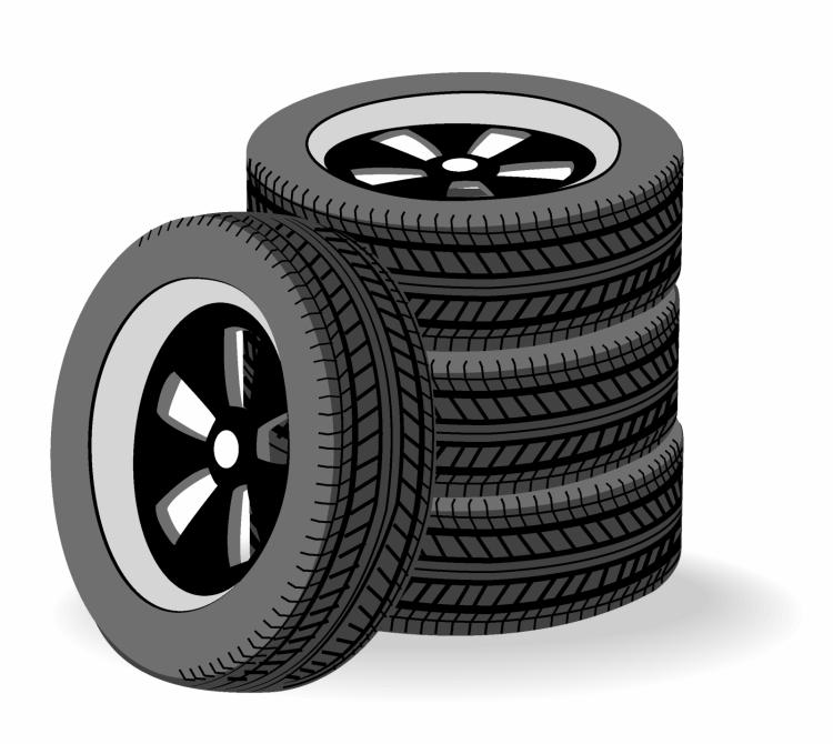 free vector Tires stacked