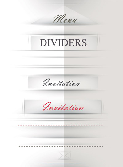 free vector Title decorative vector