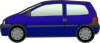 free vector Tobias Blue Twingo clip art