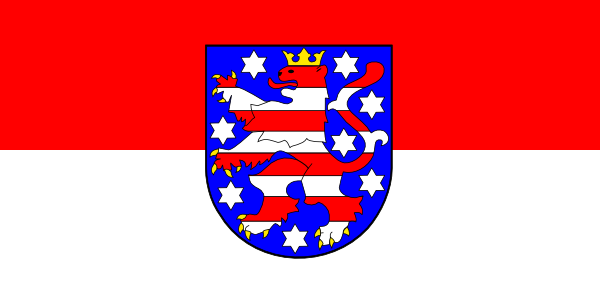 free vector Tobias Flag Of Thuringia clip art