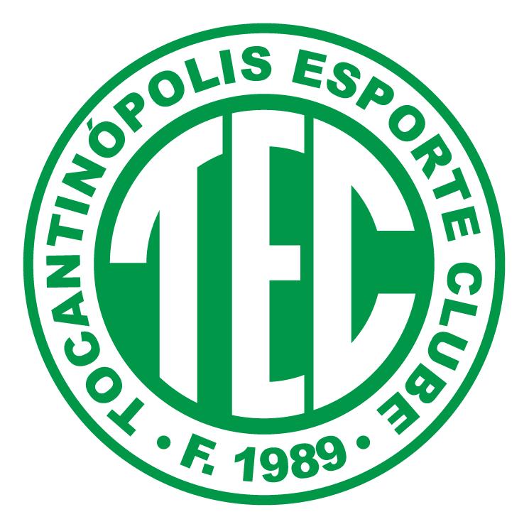 free vector Tocantinopolis esporte clube tec to