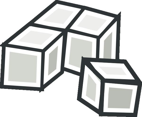 free vector Tofu Cubes clip art