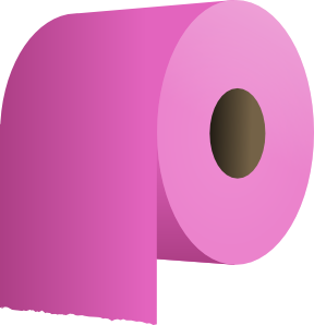 free vector Toilet Paper Roll clip art