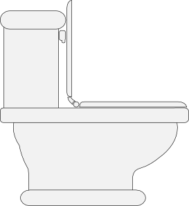 free vector Toilet Seat Open clip art