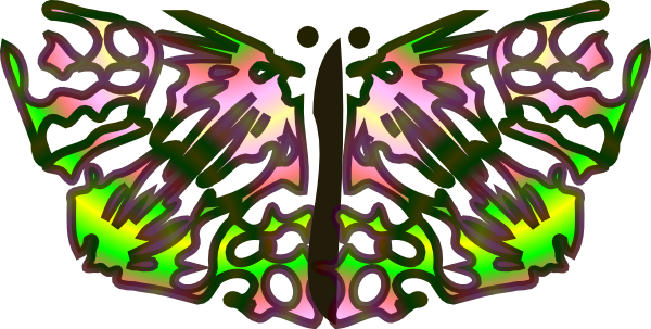 free vector Tom Butterfly clip art
