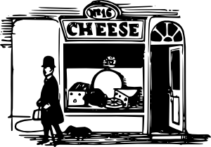 free vector Tom Cheese Shop clip art