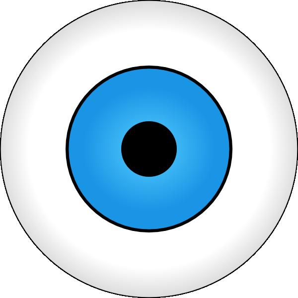 tonlima olho azul blue eye clip art free vector 4vector rh 4vector com flying eyeball vector eyeball vector free