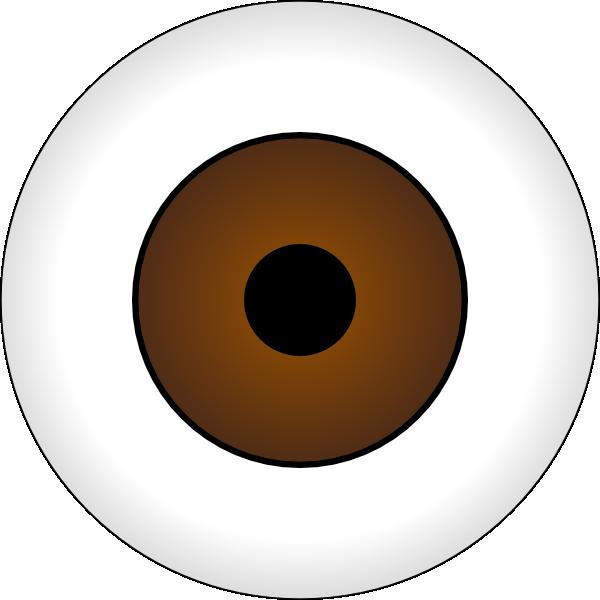 free vector Tonlima Olhos Castanhos Brown Eye clip art