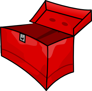 free vector Tool Box clip art