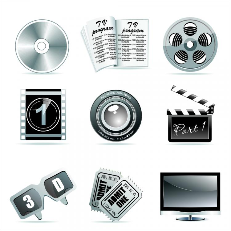 free vector Tool film 01 vector