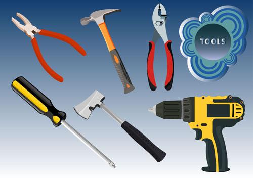 free vector Tools 03 vector