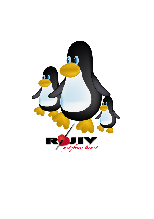 free vector Toon Penguin Vector