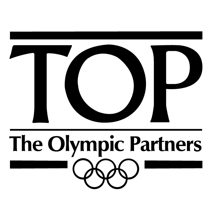 free vector Top the olympic partners