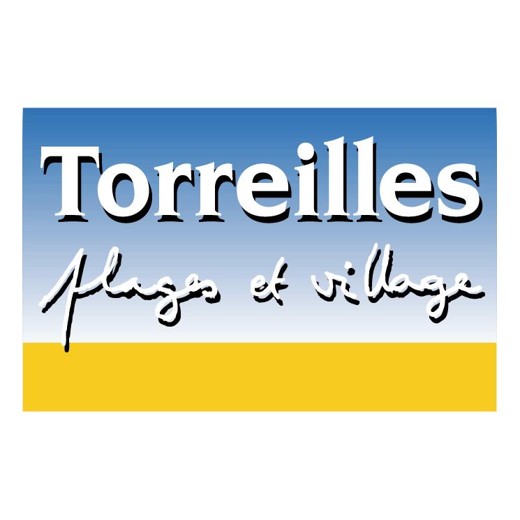 free vector Toreilles plages et village