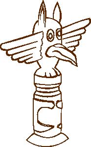 free vector Totem clip art