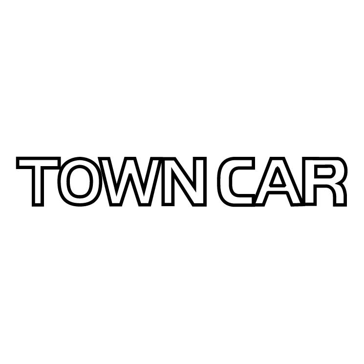 free vector Town car