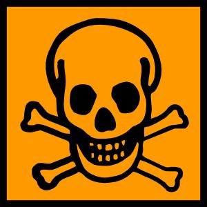 free vector Toxic Poisonous clip art