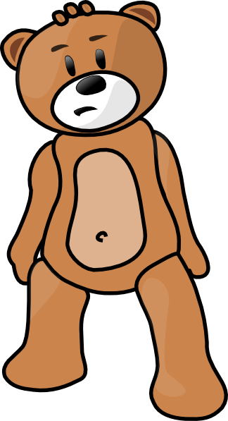 free vector Toy Bear clip art