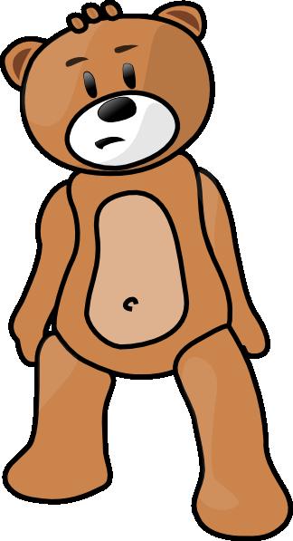 free vector Toy Bear clip art