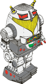 free vector Toy Robot clip art