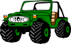free vector Toyota Land Cruiser clip art