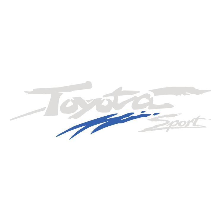 free vector Toyota sport