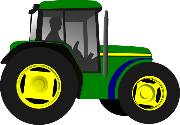 free vector Tractor Framing Machine Equipment clip art