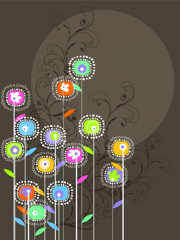 free vector Traditional line drawing pattern vector