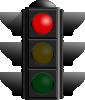 free vector Traffic Light: Red clip art