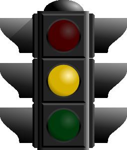 free vector Traffic Light: Yellow clip art