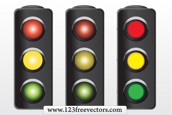 free vector Traffic Signal Vector