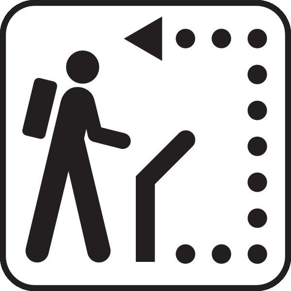 free vector Trail Path clip art