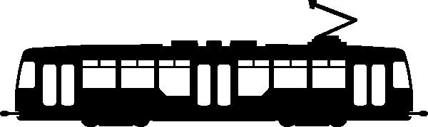free vector Tram clip art