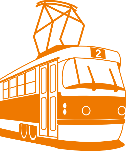 free vector Tramway clip art