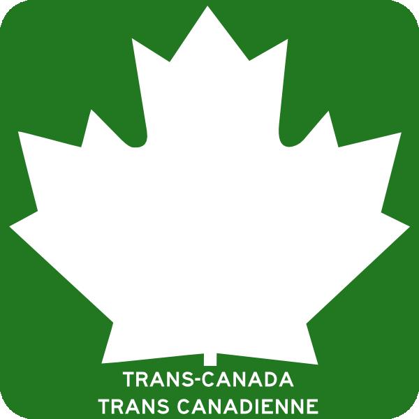 free vector Trans Canada Highway clip art 109706