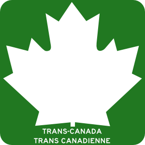 free vector Trans Canada Highway clip art