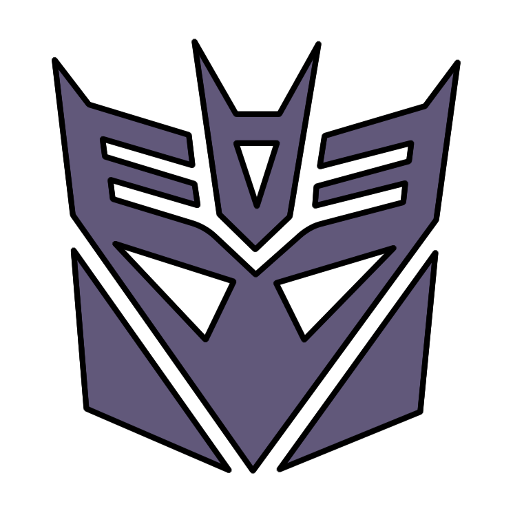 free vector Transformers decepticon