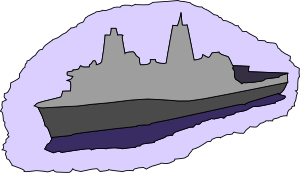 free vector Transport Dock Ship clip art